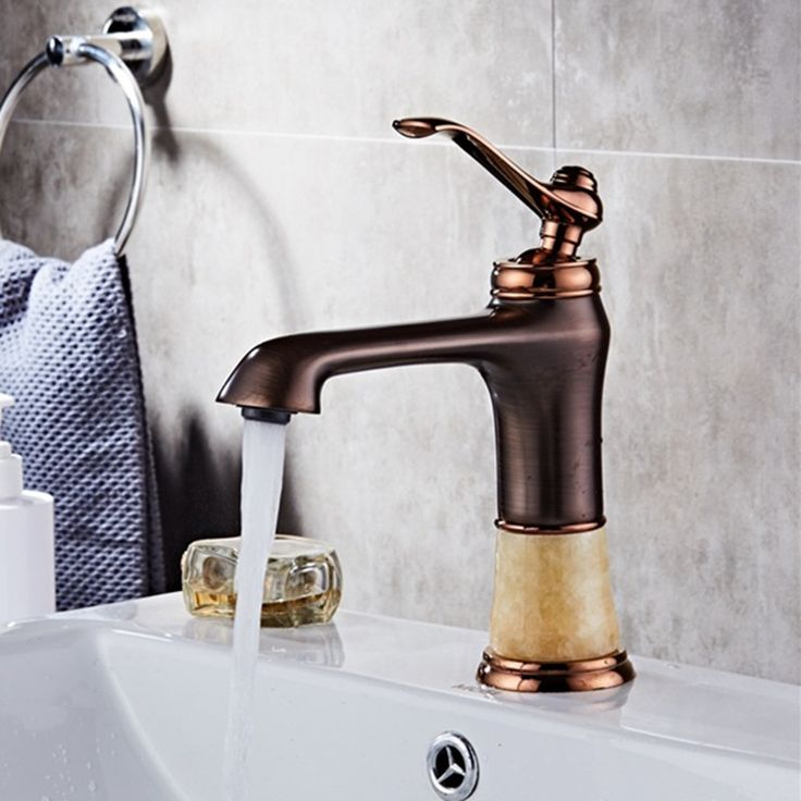 Bathroom Faucets Oil rubbed Bronze Faucet Brass Bath Basin Mixer Tap Hot and Cold Water Tap bowlder Sink Crane. Yesterday's price: US $96.00 (79.38 EUR). Today's price: US $52.80 (43.45 EUR). Discount: 45%.