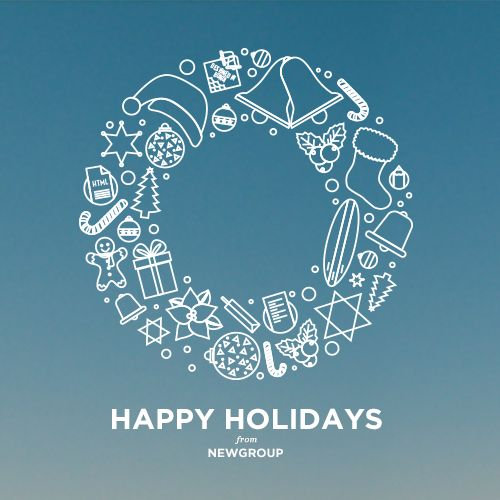 Happy Holidays from NEWGROUP!