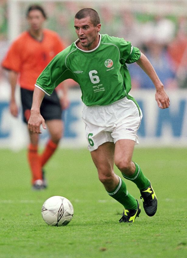 Roy Keane, Republic of Ireland 1-0 Holland, 2001.