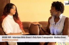 Ghana's first transgender female revealed, TV presenter slammed....