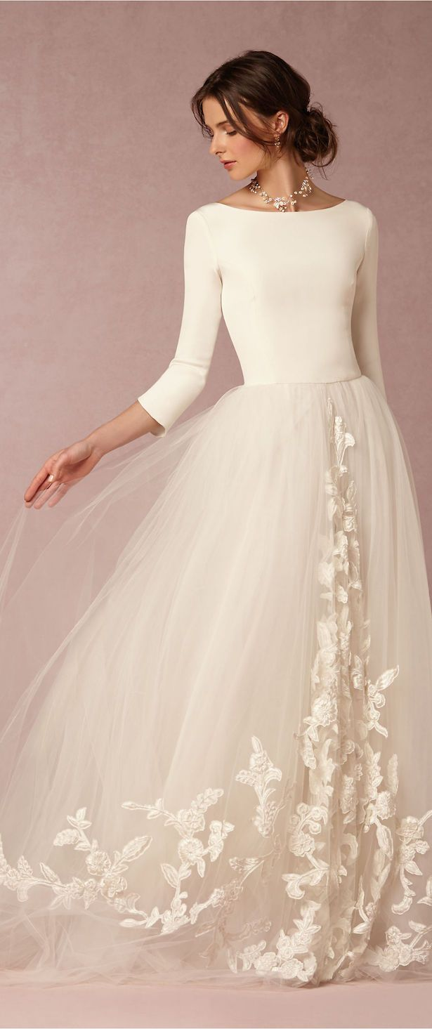 BHLDN #Wedding Dress - Belle The Magazine