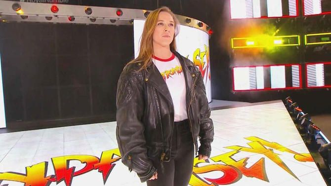 STRENGTH FIGHTER™: Ronda Rousey Royal Rumble 2018 wwe debut