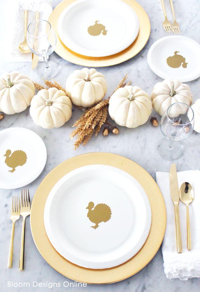 Thanksgiving Turkey Plates