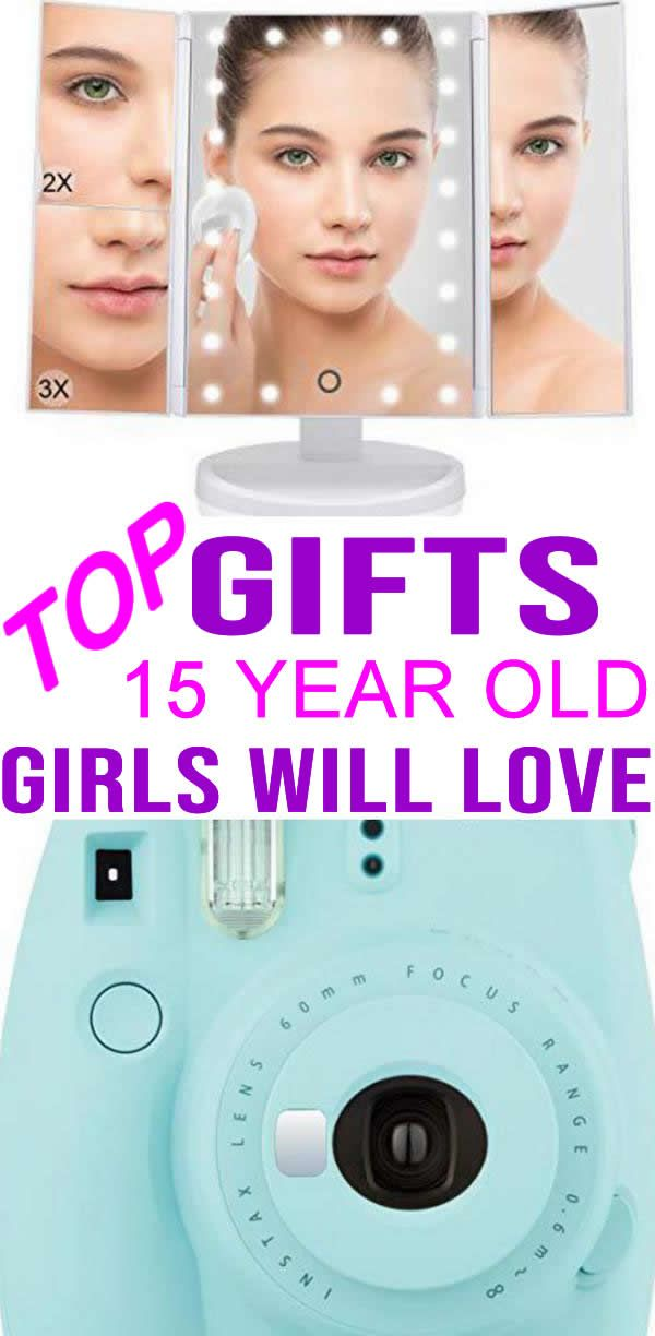 BEST Gifts 15 Year Old Girls Top Gift Ideas That Yr Will Love Find Presents Suggestions For A 15th BirthdayChristmas Or Just