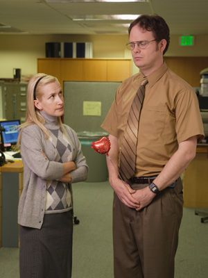 Dwight and Angela: wins most messed up relationship