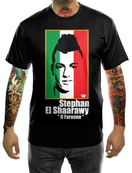 Ac Milan tees series. Stephan El Shaarawy. Made only 20 pcs. Price IDR 115 k. Grab it fast. For more info and order text +628888526003