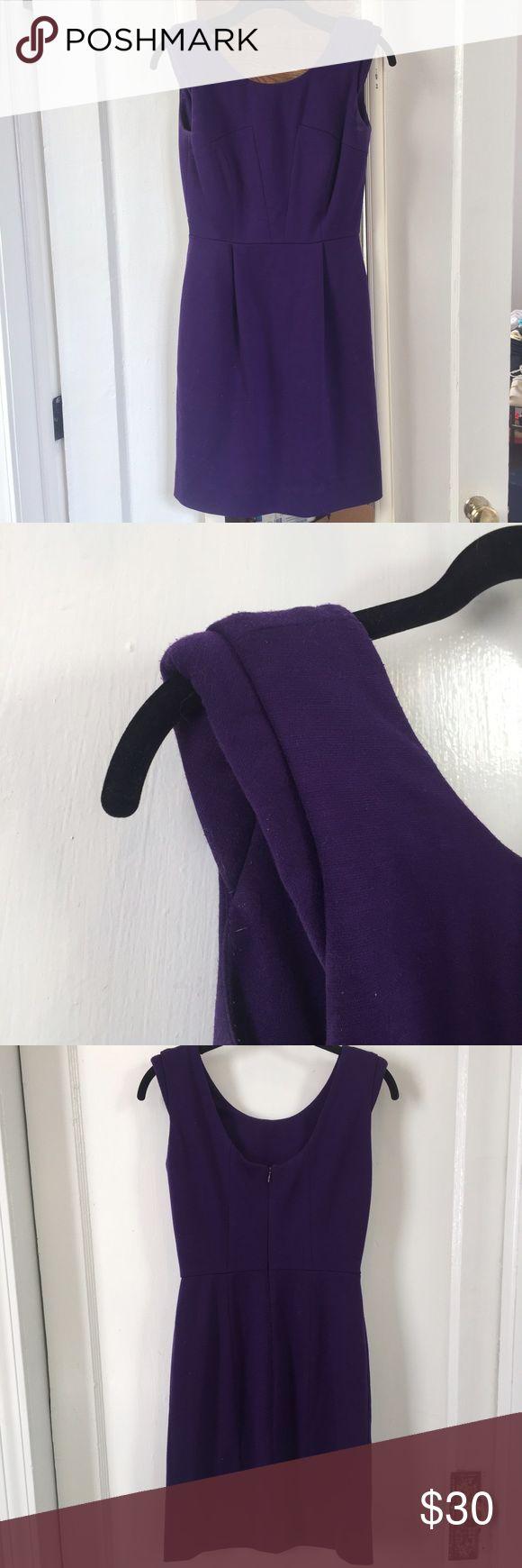 Gianni Bini Purple Dress Gianni Bini purple dress with a little padding on the shoulders Gianni Bini Dresses Mini