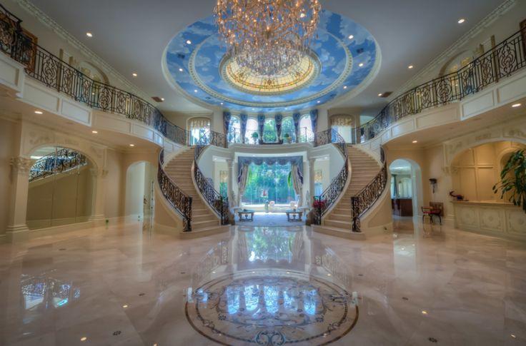 Homes Mansions Mediterranean Mansion In Houston Tx