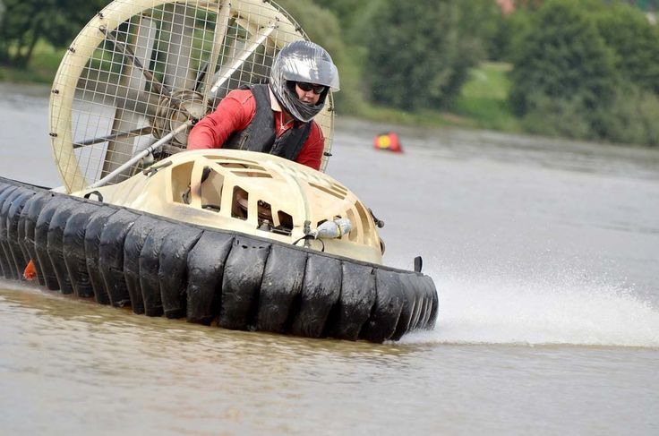 Hovercraft stag parties with StagWeb