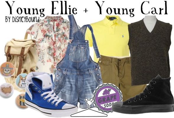 Disney Bound - Young Ellie + Young Carl