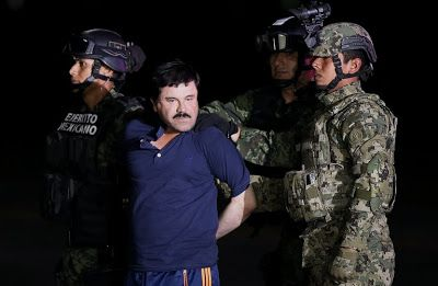 Mexican Drug Kingpin El Chapo Extradited To The US