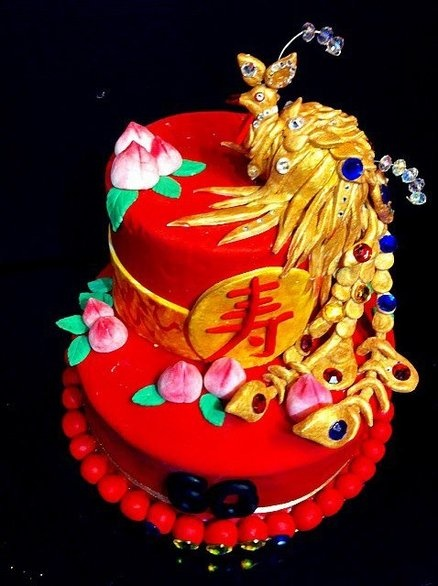 Chinese Phoenix Cake Wedding Pinterest Phoenix