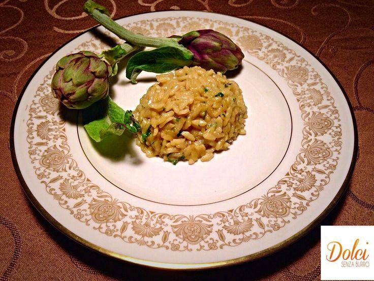 Ecco un avvolgente RISOTTO CARCIOFI E ZAFFERANO AL PROFUMO DI LIMONE un piatto realizzato con #cuko di #imetec . Un goloso #risotto allo #zafferano e #carciofi spolverato di #limone Un piatto facile veloce e di effetto! Ecco la #ricetta www.dolcisenzaburro.it/recipe-items/risotto-carciofi-e-zafferano-al-profumo-di-limone/ #dolcisenzaburro
