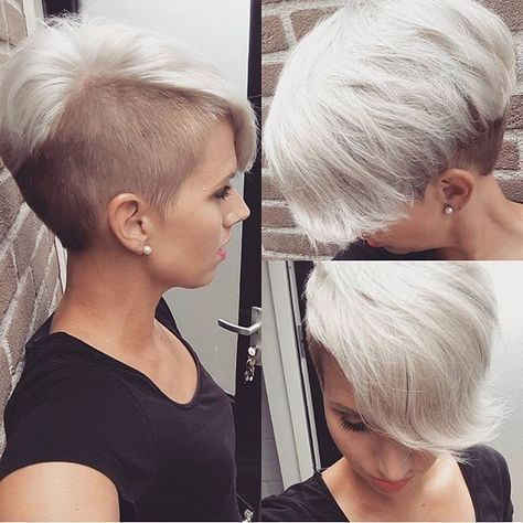 "490 Me gusta, 2 comentarios - Felice Capelli (@boblovers) en Instagram: ""@jolandalunenborg #bobhaircut #undercut #carrè #sidecutstyle #bobhairstyle #rasatura #shorthair…"""