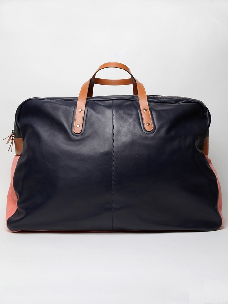 Paul Smith's Lams Leather Holdall