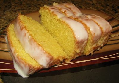 Starbuck's Lemon Loaf-- A moist, delicious quick bread recipe