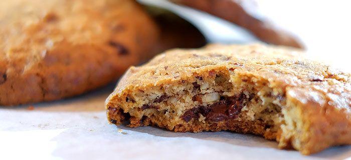 Verslavend lekkere chocolade-pecankoeken met grof zeezout