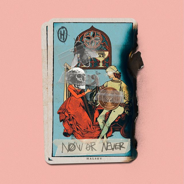 """""""Now Or Never"""" by Halsey added to Today's Top Hits playlist on Spotify From Album: Now Or Never"""