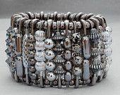 Bracelet épingle de sûreté - superbe Silver