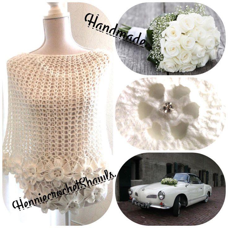 At my request again in my webshop. Op veler verzoek opnieuw in mijn webshop. Blij om mijn nieuwste toevoeging aan mijn #etsy shop te kunnen delen: Sjaal(bruid)omslagdoek, (bruids)stola gehaakt met bloemenrand, sjaal bruid, sjaal bruidsmoeder,bruidsmeisje, bloemensjaal, kledingcadeau #accessoires #sjaal #bruiloft #wittekantensjaal #bruidsaccessoire #wittebruidssjaal #bruidssjaal #blumenschalgehakelt #Accessiore