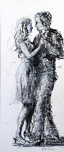 "Clare Hartigan ""Romance & Dance"" #DukeStreetGallery #dance #love"