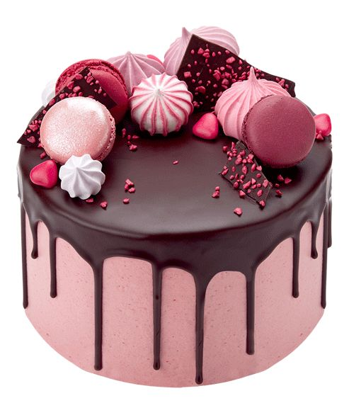 Chocolate Raspberry Drip Cake