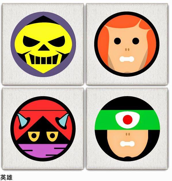 Divertida versión de los personajes de He Man.