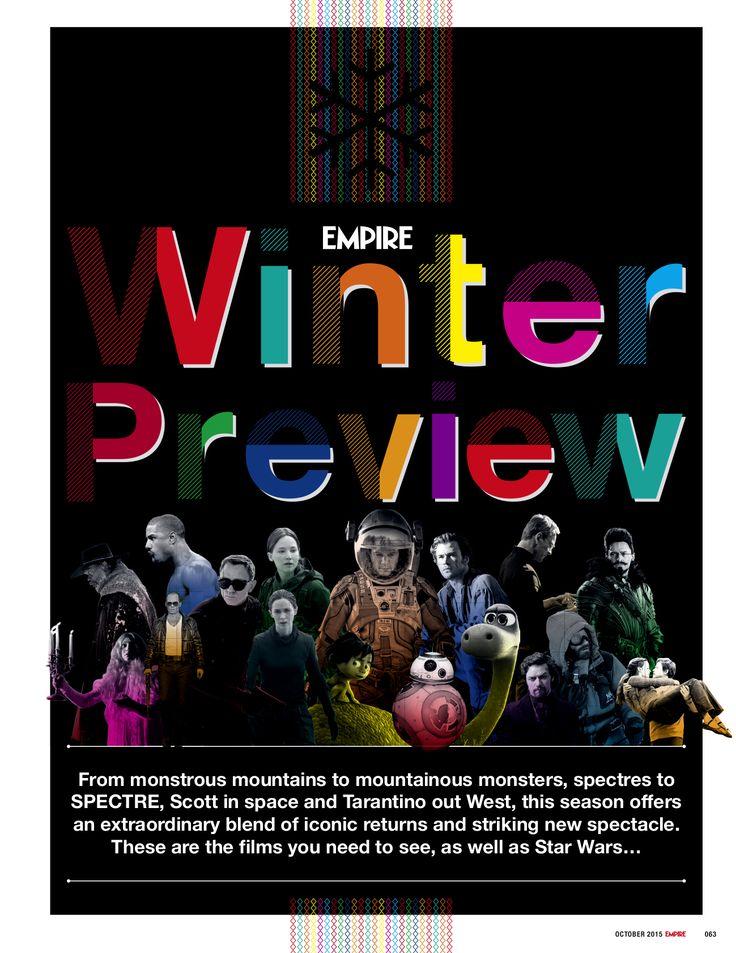 Winter Preview Opener / Empire Magazine by Adam Gerrard