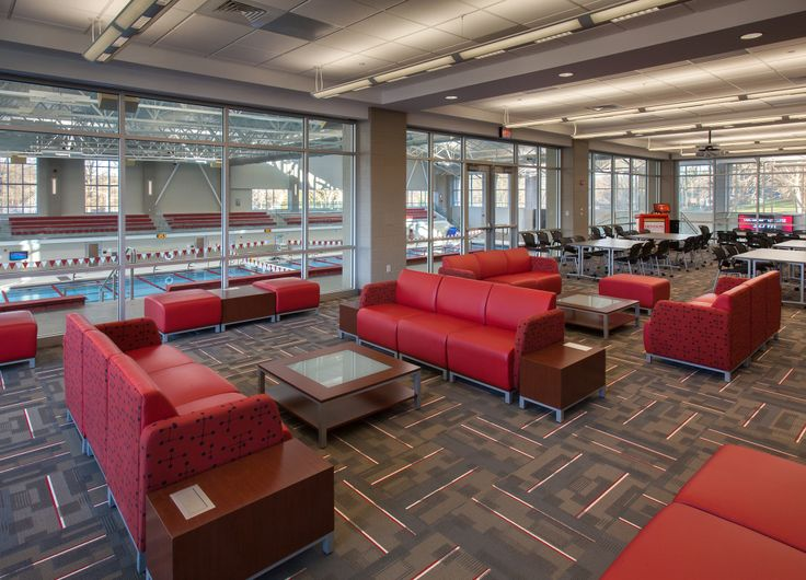 Denison University (Granville, OH) Swift Lounge Seating In  Collaborative/open Space Area Part 5