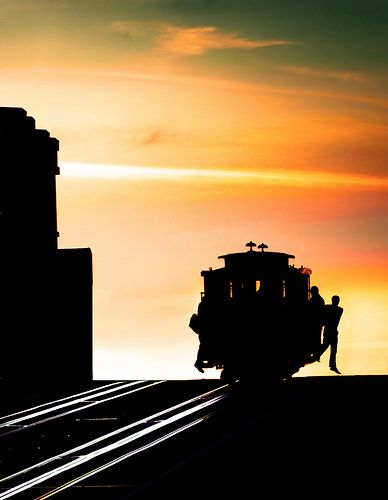 To be where little cable cars by canbalci #sanfrancisco #sf #bayarea #alwayssf #goldengatebridge #goldengate #alcatraz #california