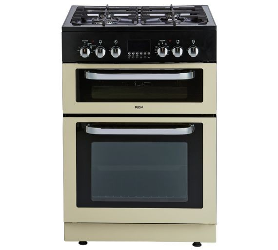 Buy Bush BDFDXS60C Dual Fuel Cooker - Cream at Argos.co.uk - Your Online Shop for Freestanding cookers, Cooking, Large kitchen appliances, Home and garden.