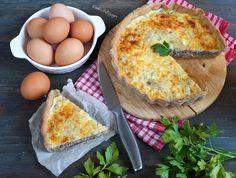 Диетический открытый французский пирог киш с мясом | Рецепты правильного питания - Эстер Слезингер