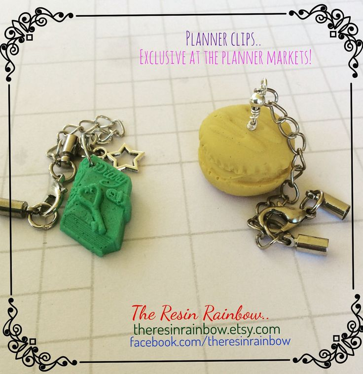PLANNER CHARMS ..