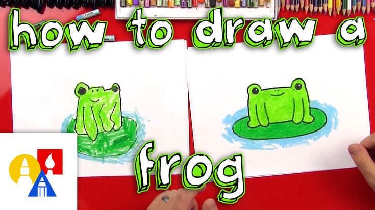 how to draw a frog step by step youtube