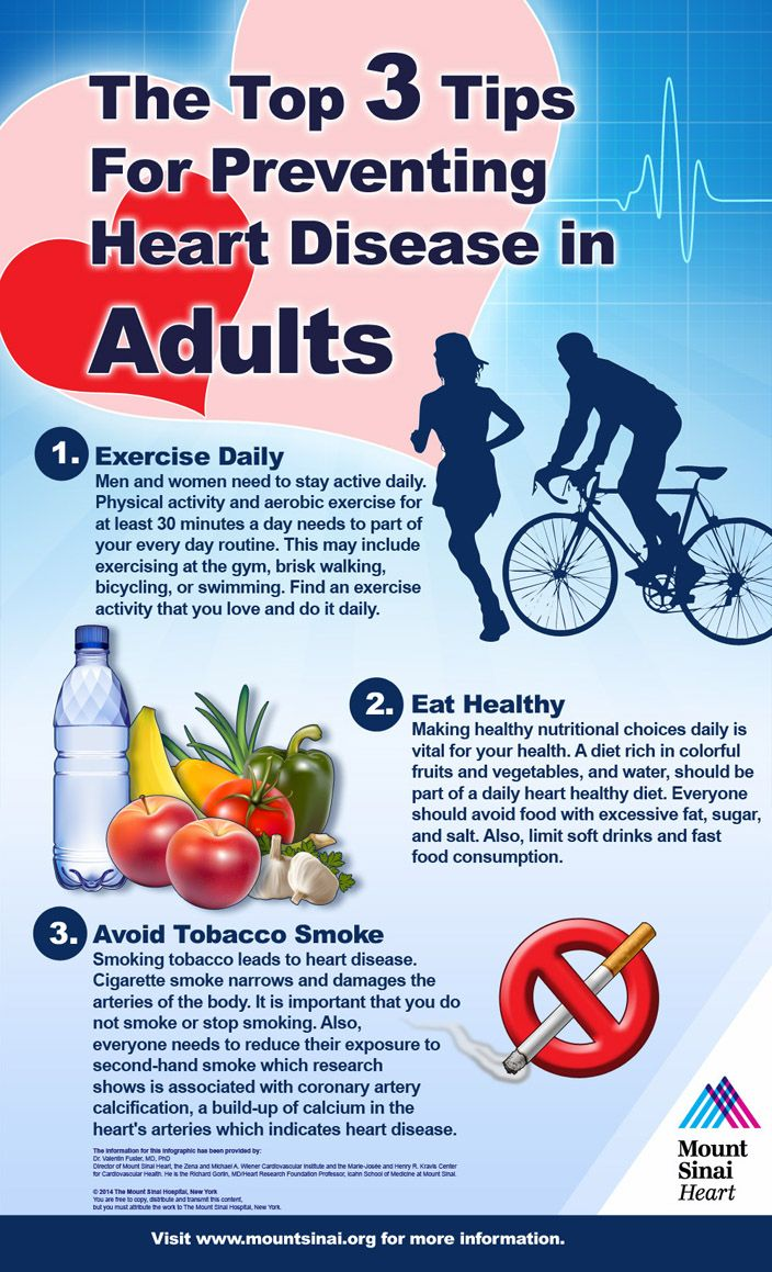The Top 3 Tips for Preventing Heart Disease in Adults ...