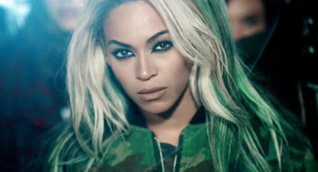 Beyonce - Superpower.  Cat eyes.