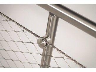 Stainless steel balustrade Q-LINE ® EASY Q-WEB