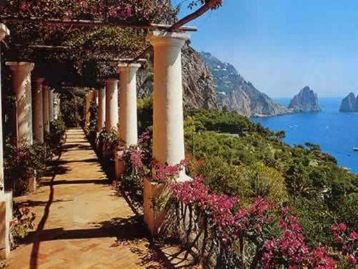 Комбинирана екскурзия в Италия: Неапол, Помпей, Амалфи, остров Капри   Дари Тур