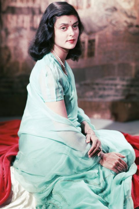 PRINCESS GAYATRI DEVI OF COOCH BEHAR 1952