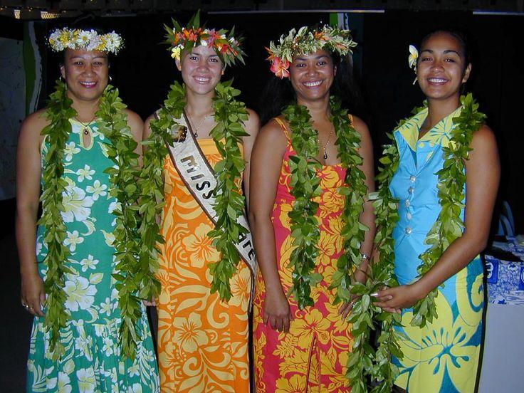 South pacific island girls — photo 2