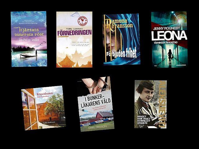 Bokpool: Lästa böcker mars 2017