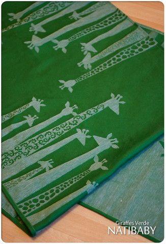 Natibaby Giraffe Verde 70% Cotton, 30% Hemp Release Date: January 30, 2015