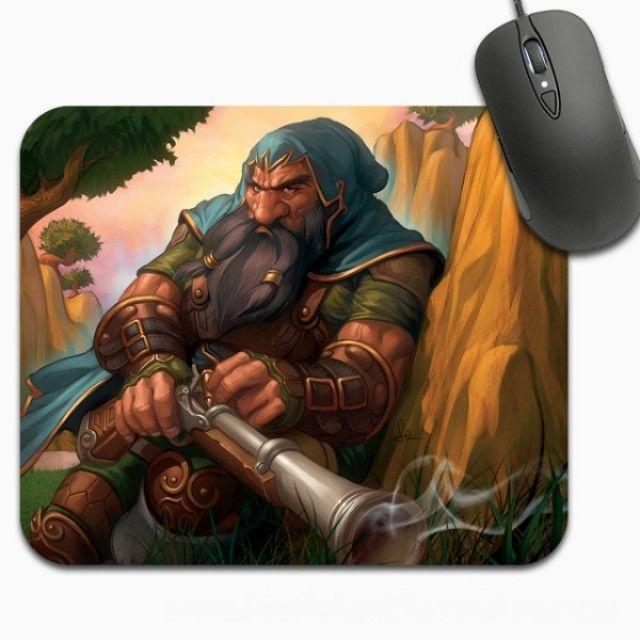 WoW Dwarf Hunter | World of Warcraft Dwarf Hunter Mouse Pad