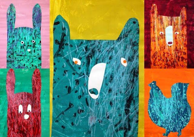 les petites têtes de l'art: A la manière de Colin Walsh