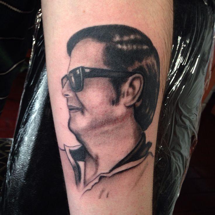 #retrato #tattoo #blackandgrey #pinceltattoo