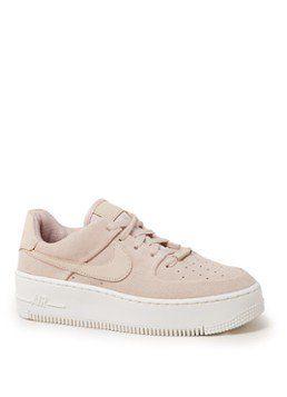 bc65afafbd934e Nike Air Force 1 Sage Low sneaker van suède • de Bijenkorf