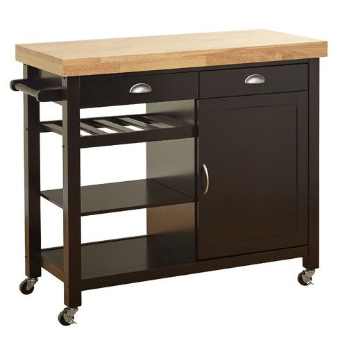 Ikea Ikea Stenstorp Wood Chrome And Black: 1000+ Ideas About Kitchen Carts On Pinterest