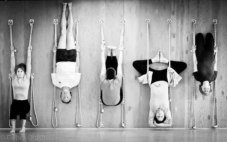 I can't wait to have a space to build one of these in my own home and/or practice at a studio with one of these systems. So much you fun yoga you can do with a rope wall!!!!