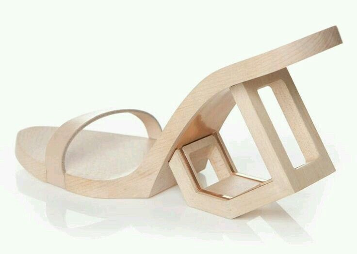 Extreme shoes - all about wood