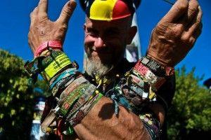 Festival de Sziget pulseiras